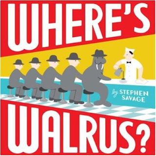 walrus Snow day seek and find fun