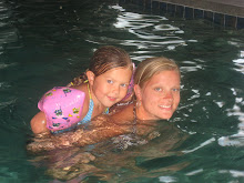 Mom and KKD swimming