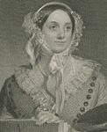 Eliza Leslie black and white engraving