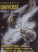 Fantastic Universe January 1956 front cover