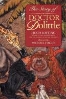 The Story of Doctor Dolittle by Hugh Lofting, illustrated by Michael Hauge paperback edition front cover