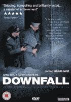 The 'Downfall' (aka 'Der Untergang') region 2 UK English two disk version DVD front cover.