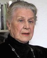 Color photograph of Traudl Junge.