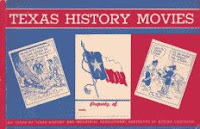 'Texas History Movies' 1935 horizontal long digest edition front cover