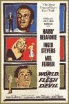 'The World, the Flesh and the Devil' color movie poster