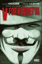 'V for Vindetta' by Alan Moore hardcover edition front cover