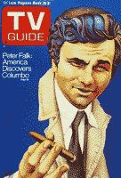 Peter Falk as Columbo TV Guide 25-Mar-1972 front cover