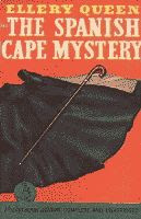 The Spanish Cape Mystery by Frederic Dannay and Manfred Bennington Lee (aka Ellery Queen) vintage paperback front cover
