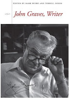 John Graves, Writer dust jacket front