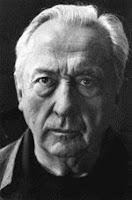 Pierre Soulages black and white photograph
