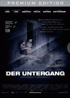 The 'Der Untergang' (aka 'Downfall') region 2 German premium edition two disk version DVD front cover.