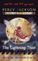 The Lightning Thief by Rick Riordan British edition front cover