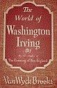'The World of Washington Irving' by Van Wyck Brooks hardcover front cover
