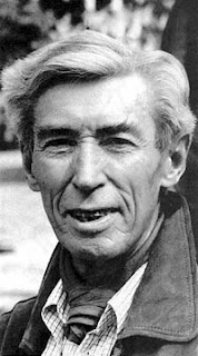 A photo of Georges 'Hergé' Remi, the creator of Tintin.