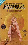 The front cover of 'Empress of Outer Space' by A. Bertram Chandler.
