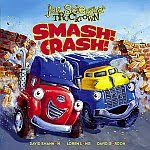 A color photo of the front cover of 'Smash! Crash!' by Jon Scieszka.