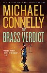 A color photo of the front cover of 'The Brass Verdict' by Michael Connelly.