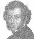 An engraved black and white portrait of Charles Elmé Francatelli.