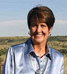 A color photograph of Margaret Coel circa 2005