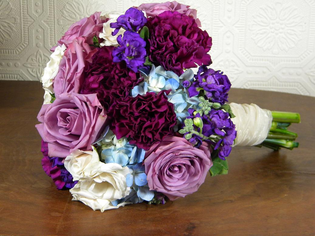 Bridal Bouquet Flowers Or Two Waters Crossword Wedding From Springwell Bouquets In