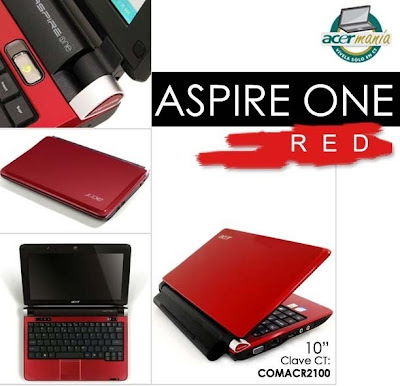 Aspire One Red