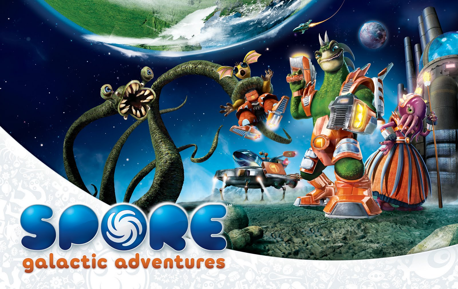 Spore: Galactic Adventures Wallpapers 1