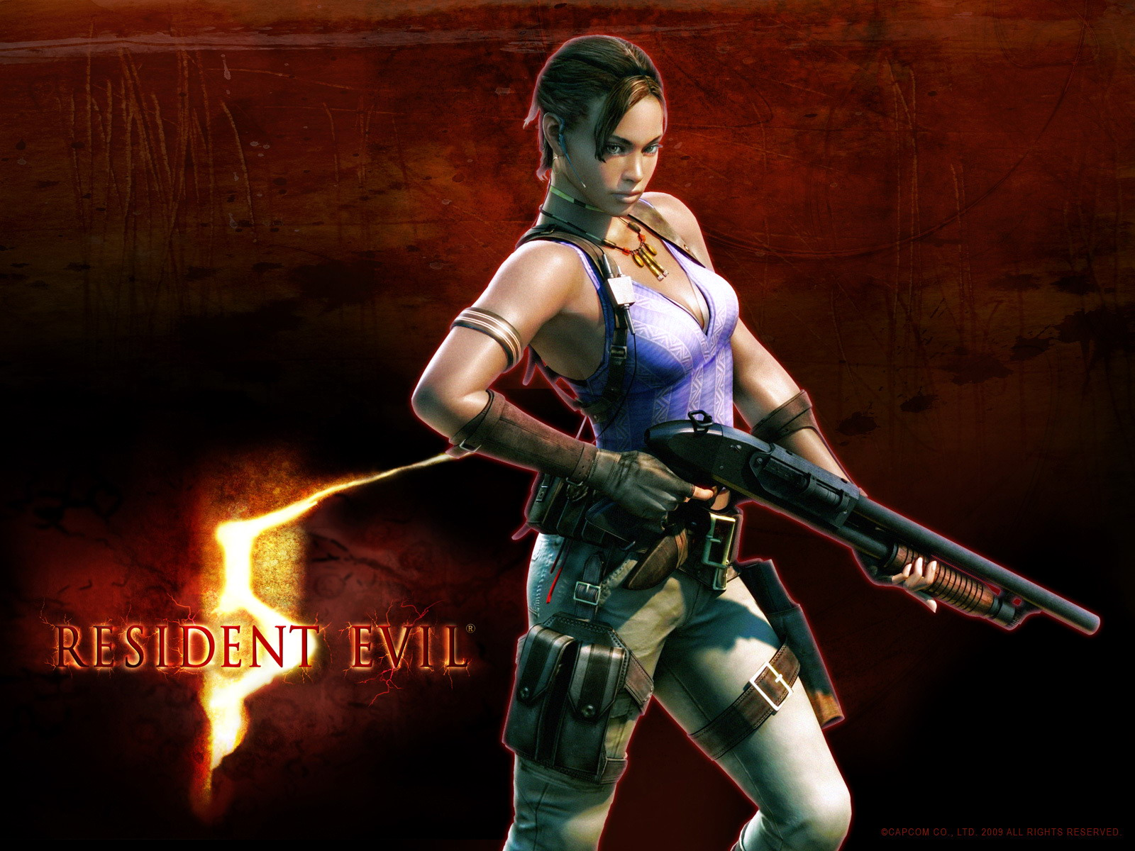 Wallpaper image of Resident Evil 5 PC Game