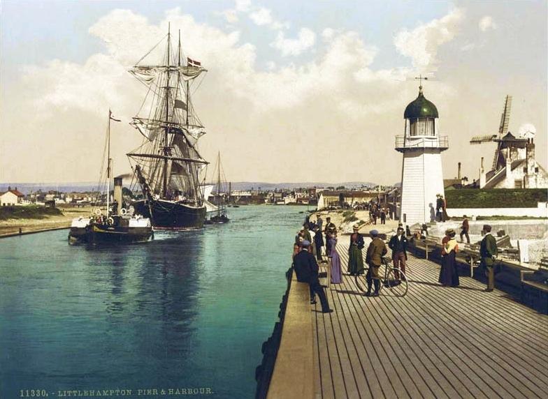 Transpress Nz Littlehampton Pier Then And Now