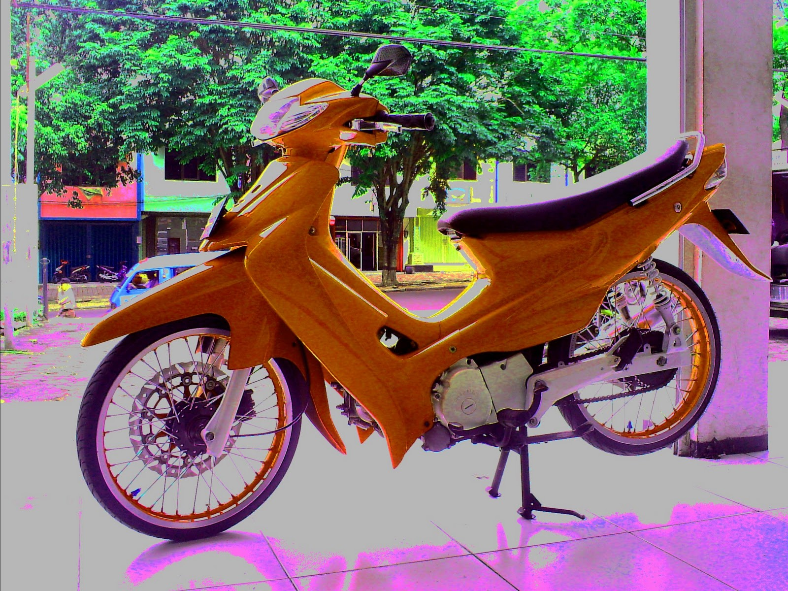 suzuki smash indonesia ~ automotif trend modification