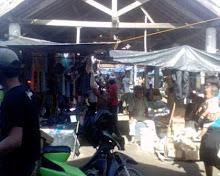 suasana di salah satu losmen pasar sukanegeri
