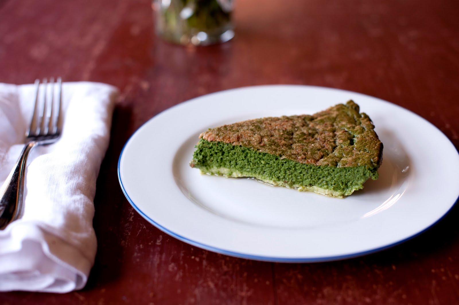 Dave T's Spinach Cake Recipe — Dishmaps
