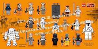 LEGO Star Wars 2010 Sticker Sheet