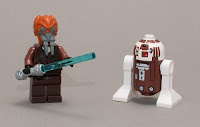 LEGO Star Wars Plo Kloon and R7-D4