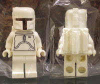 LEGO Star Wars white Boba Fett