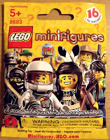 LEGO Series 1 Collectible Minifigure Package - Front