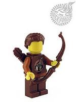 BrickForge reddish-brown longbow