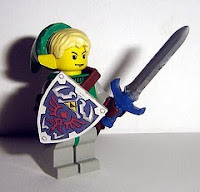 ChocoBricks Customs Link Legend of Zelda