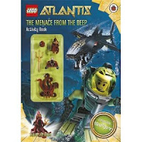 Ladybird LEGO Atlantis Activity Books