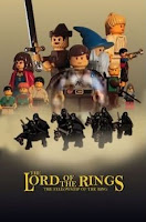LEGO Lord of The Rings Poster