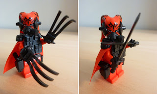 Exobrick's Custom Darth Talon with Si-Dan and Tiny Tactical Accessories