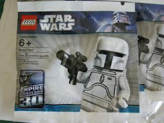 LEGO Star Wars White Boba Fett package