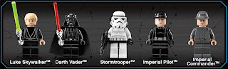 LEGO Star Wars set 10212 Imperial Shuttle Minifigures