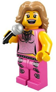 LEGO Collectible Minifigures Series 2 The Pop Star