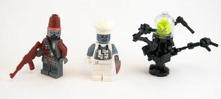 Titolian Minifigures Gargarox's Diner