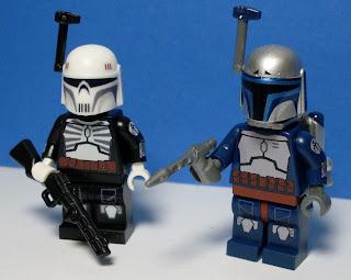 MinifigMaker's Jango Fett and Skull Mandalorian
