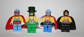 JasBrick Minifigure Wrestlers