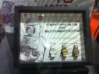 LEGO Star Wars White Gold Silver Boba Fetts San Diego Comic Con