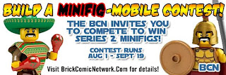 Brick Comic Network Collectible Minifigure Series 2 Contest