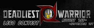 Deadliest LEGO Warrior Contest Logo
