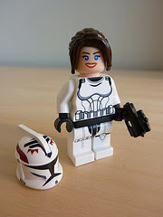 Exobrick's Female Stormtrooper with MinifigMaker helm